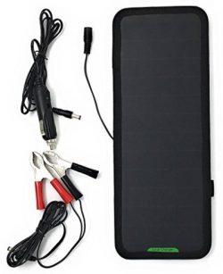 Comprar Giaride 12V 18V 7.5W Cargador Solar de 12V Baterías Cargador de Coche Portátil