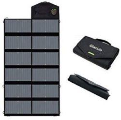 Comprar GIARIDE 12V 18V 80W Cargador Solar Sunpower Panel (18V DC, 5V USB Salida) para Ordenador Portátil, Cuaderno, Tableta, iPad, iPhone, Samsung, Coche