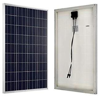 Análisis ECO-WORTHY 100W 12V policristal de panel solar