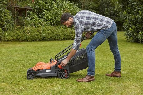 cortacésped electrico black and decker