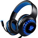 Auriculares Gaming PS4 Auriculares con Micrfono, Reduccin de Ruido, Sonido Envolvente, Auriculares...