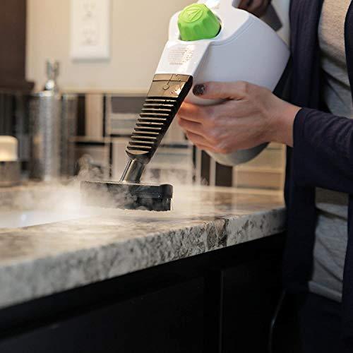 Steamfast Limpiador de Vapor de Mano con 6 Accesorios, 20.50 x 5.50 x 8.25 Pulgadas, Color Blanco