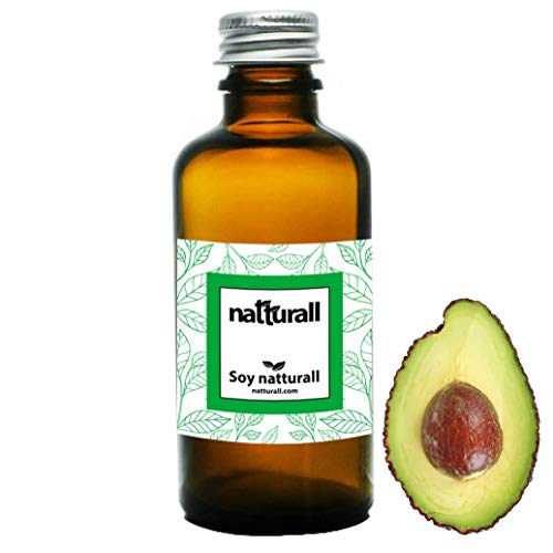 Aceite de Aguacate 60 ml para regenerar el cabello maltratado y la piel seca 100% Natturall