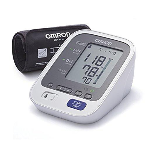 OMRON M6 Comfort - Tensiómetro, tecnología Intelli Wrap Cuff lo que permite obtener resultados precisos en cualquier posición alrededor del brazo, memoria de hasta 200 mediciones